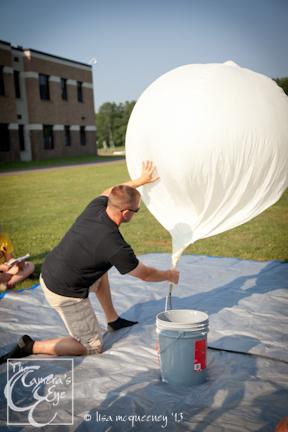 Owego Free Academy Balloon Launch