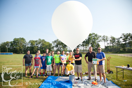 Owego Free Academy Balloon Launch
