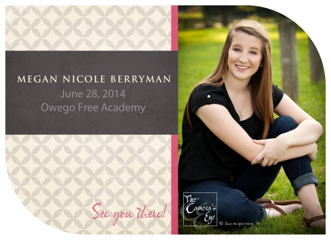 Can't forget about senior graduation announcements!