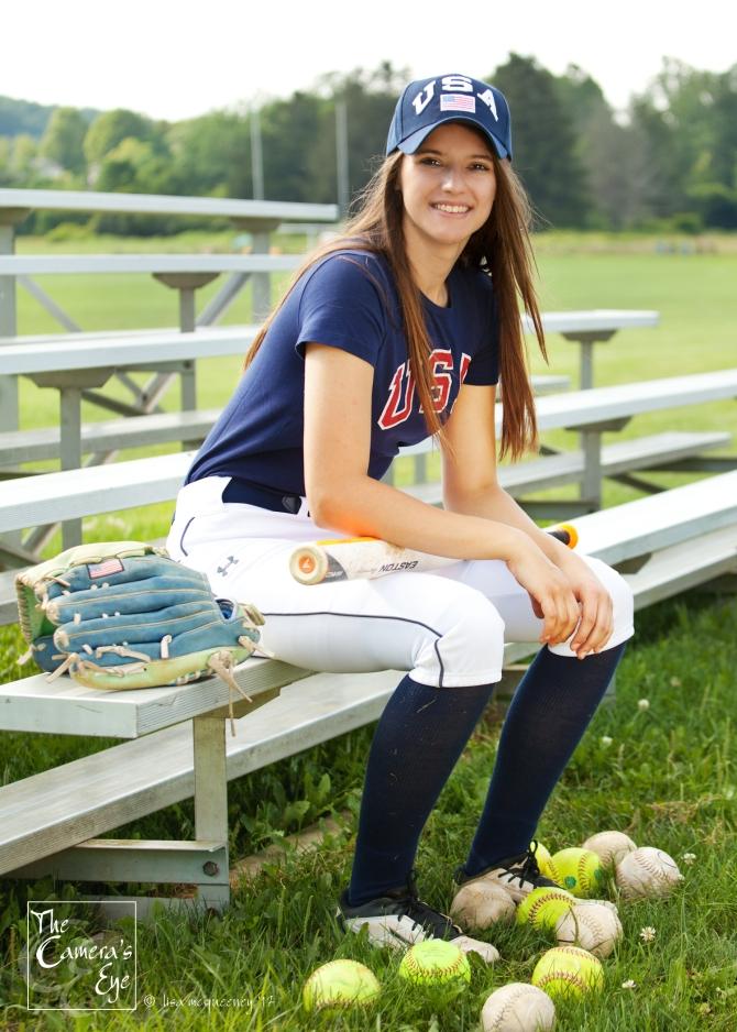 Abby071-The Camera's Eye, #softball