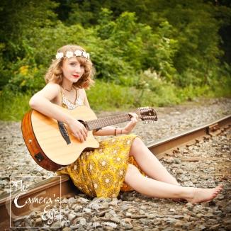 Guitar Lover, The Camera's Eye, Senior pics, Owego, NY, Photographer