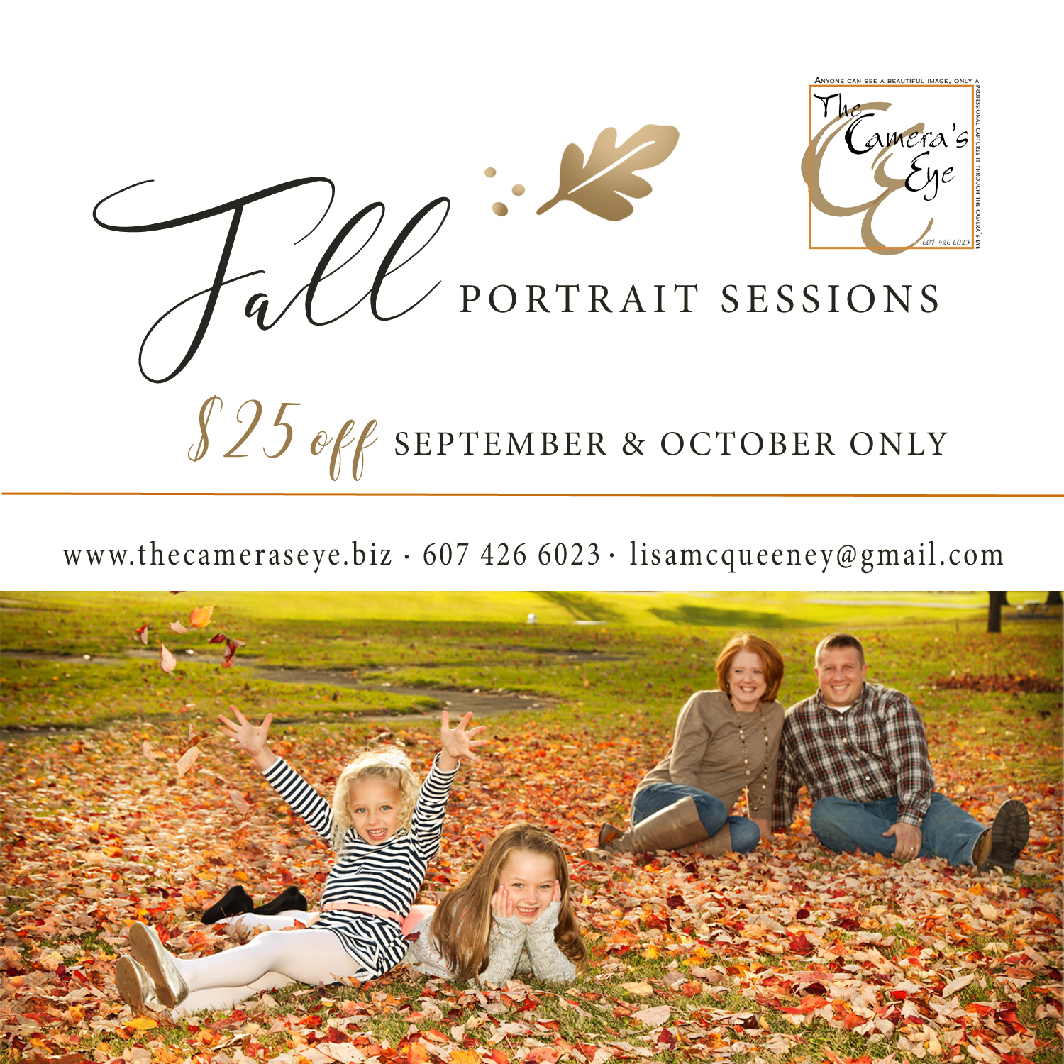 Family, Fall, Promotion, The Camera's Eye, Autumn, Owego, NY, IloveNewYork